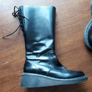 Dr Martin wedge boots